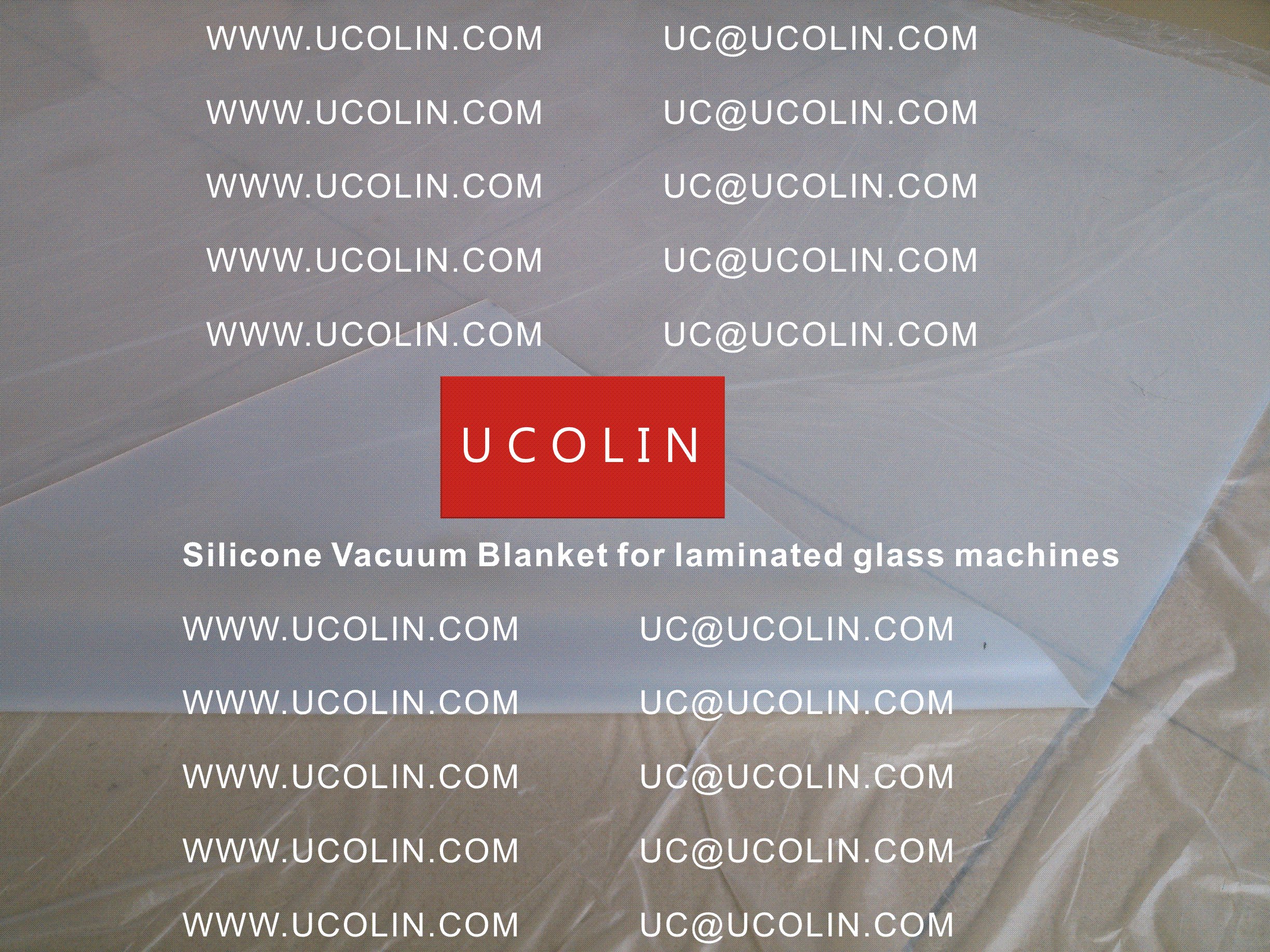 006 Silicone vacuum blanket for laminated glass machines