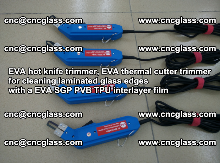 EVA thermal cutter trimmer for cleaning laminated glass edges with a EVA SGP PVB TPU interlayer film (18)