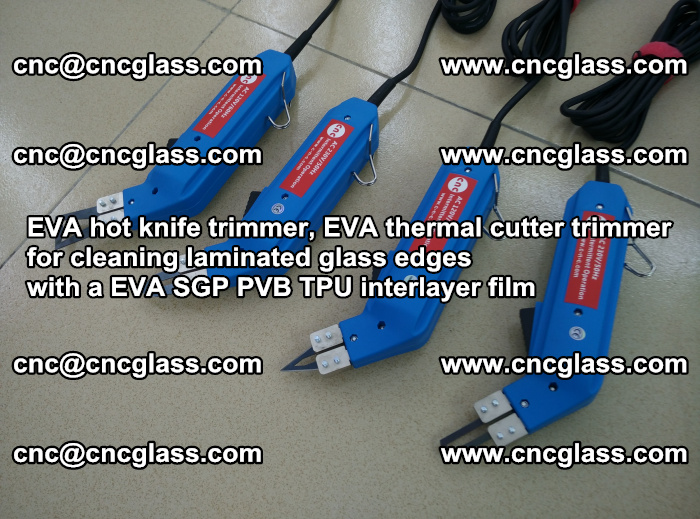 EVA thermal cutter trimmer for cleaning laminated glass edges with a EVA SGP PVB TPU interlayer film (26)