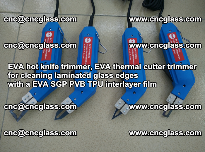EVA thermal cutter trimmer for cleaning laminated glass edges with a EVA SGP PVB TPU interlayer film (47)