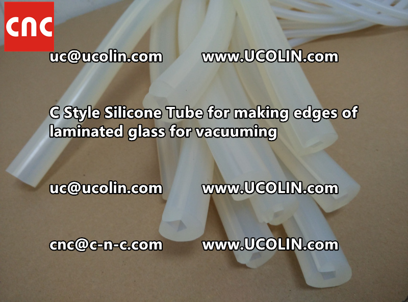 TEMPER BEND LAMINATED GLASS SAFETY GLAZING vacuuming silicone tube (87)